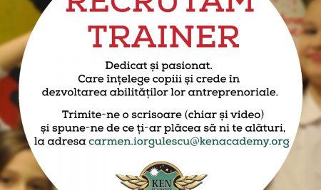 Recrutăm Trainer