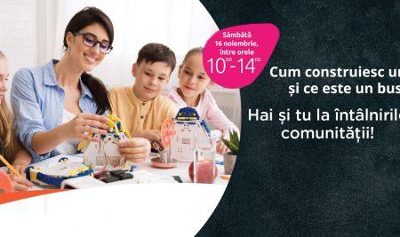 Ce învață copiii la atelierele de educație antreprenorială gratuite din Centrul Comercial Auchan Titan